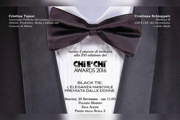 Chi è Chi Awards 2016