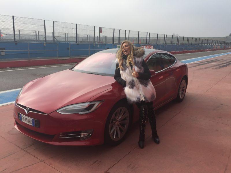 Evento Test Drive Tesla Autodromo Franciacorta